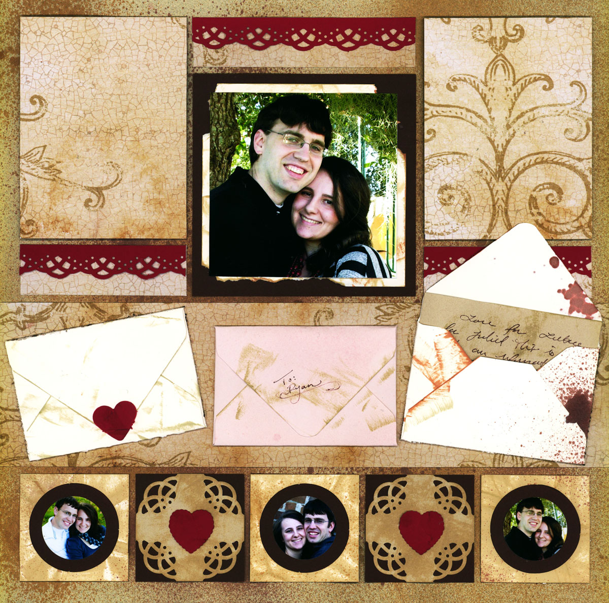 Scrapbook Ideas For Couples