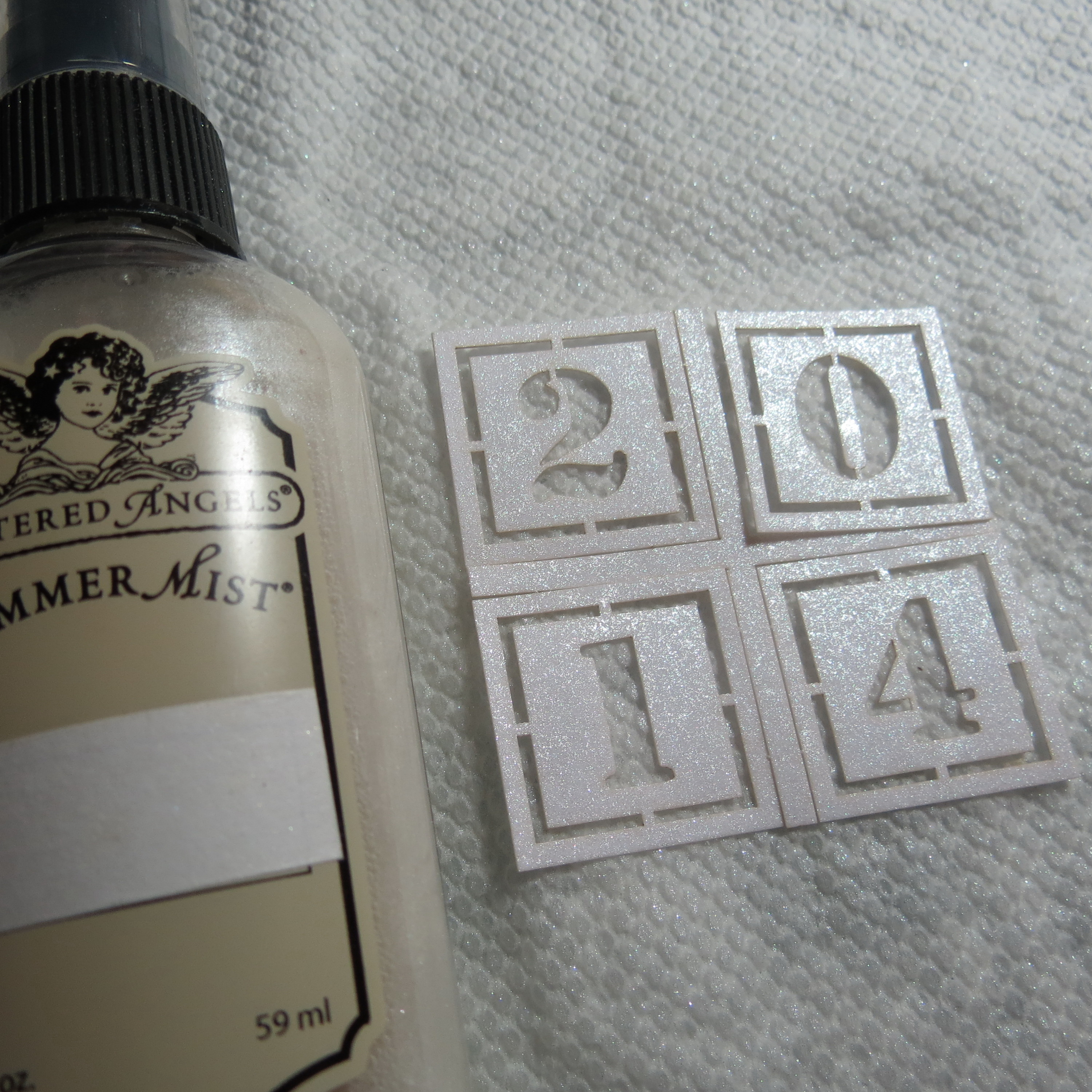 Scrapbook ideas graduation - Now To The Add Ons 1 Squares Of Graduation Patterned Papers Were Used Behind The 2014 Date Cornerstone Blocks The Blocks Were Treated With Tattered