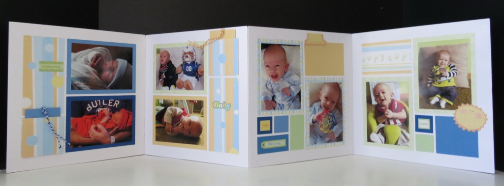 The two double layouts, pockets and extra paper tiles just right for adding a bit of journaling.