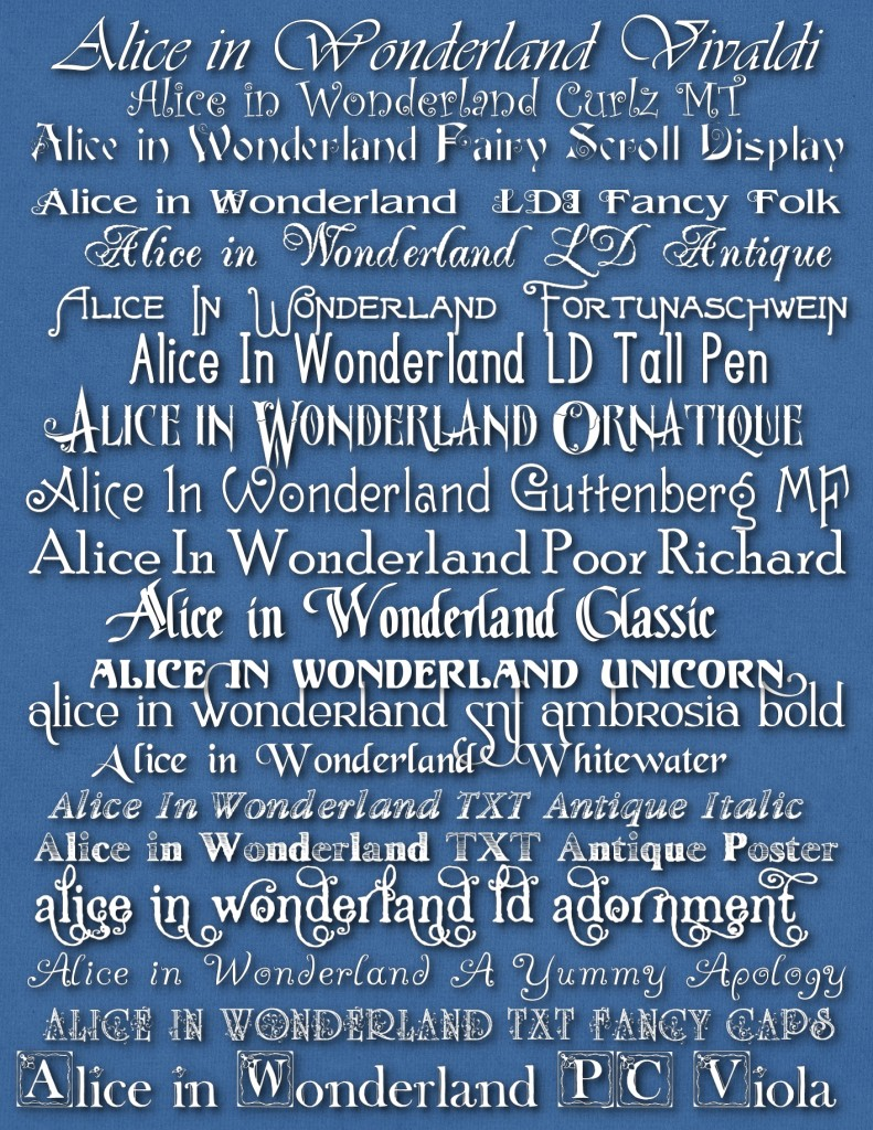 Alice Font Styles_tall