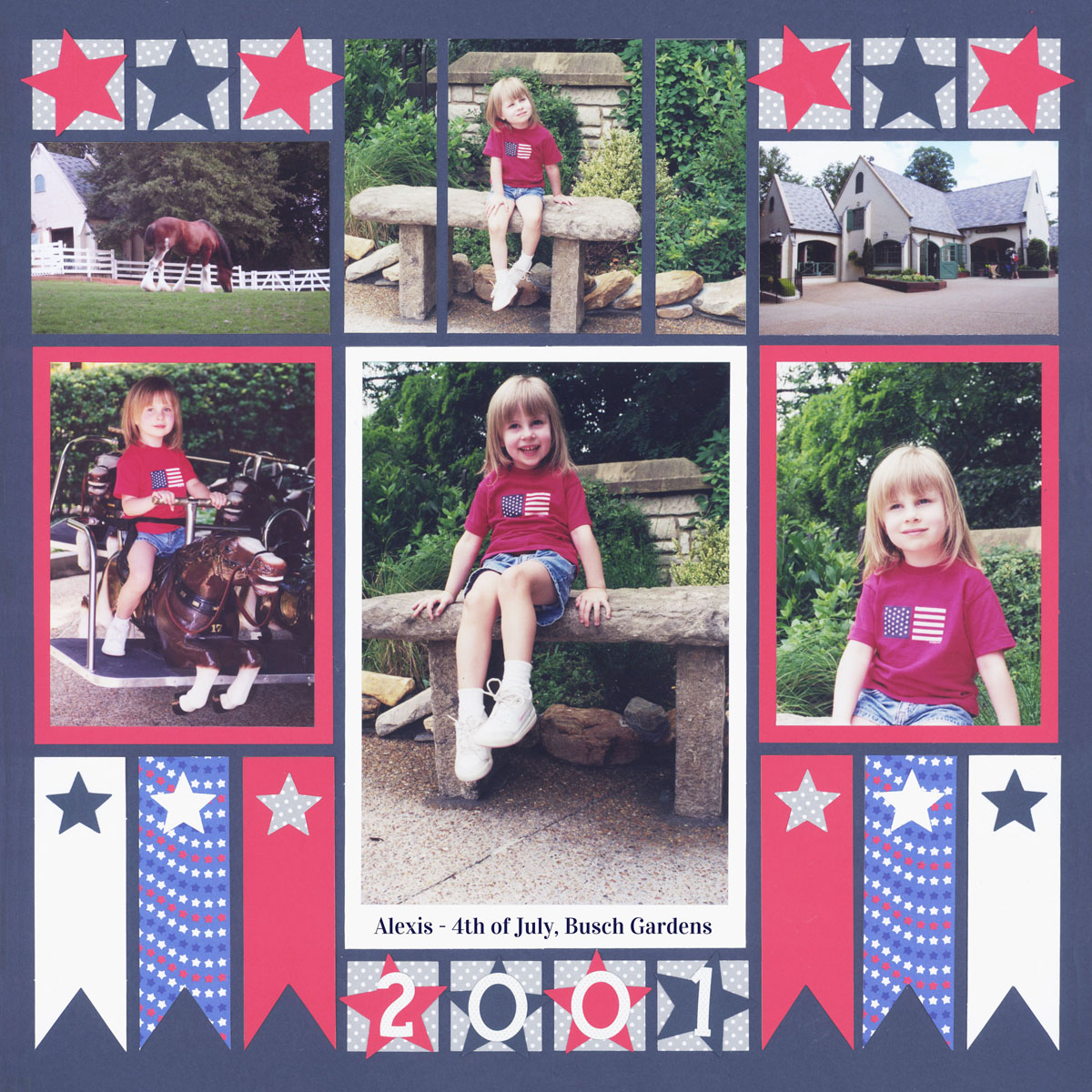 Fourth of July Scrapbook Ideas