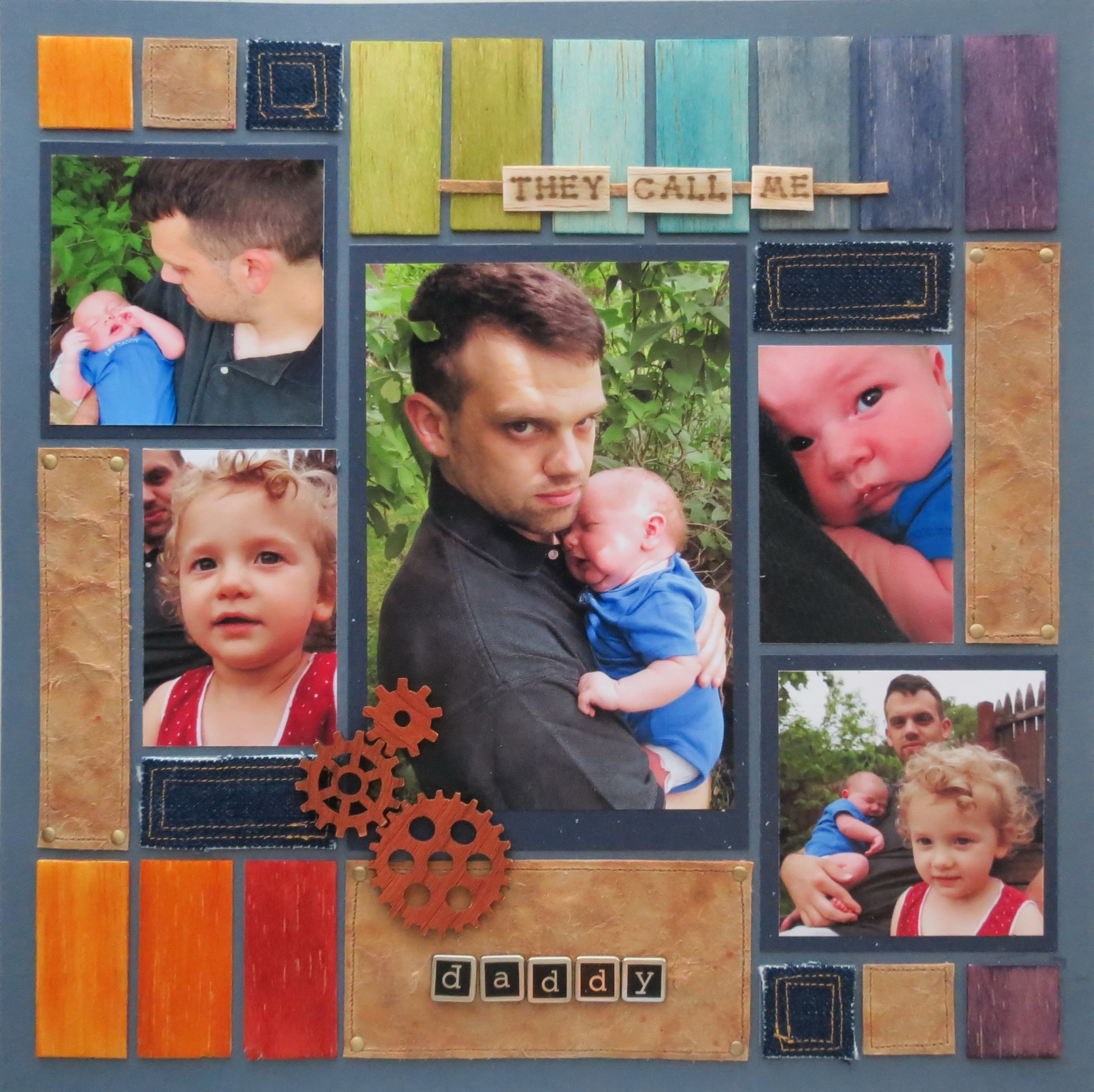 Masculine Scrapbook Page Ideas