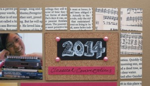 Trends: Cork and chalkboards