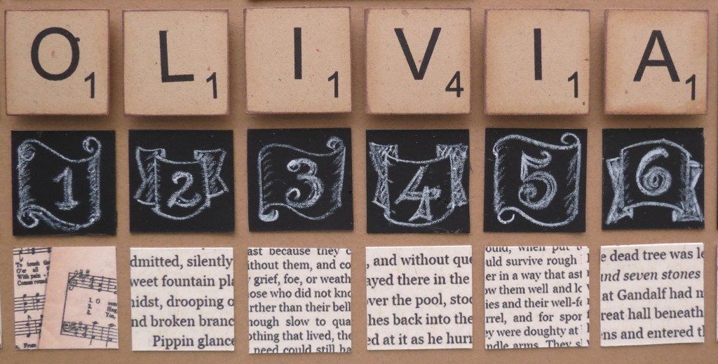 Trends & Techniques: Chalkboards and Scrabble Tiles