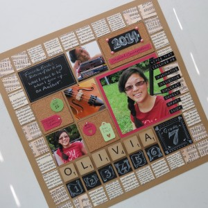Scrapbook Ideas for Back to School