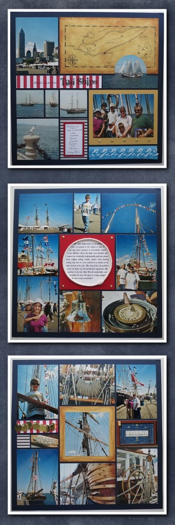 Scrapbook Pages Inspired by Treasure Island-2