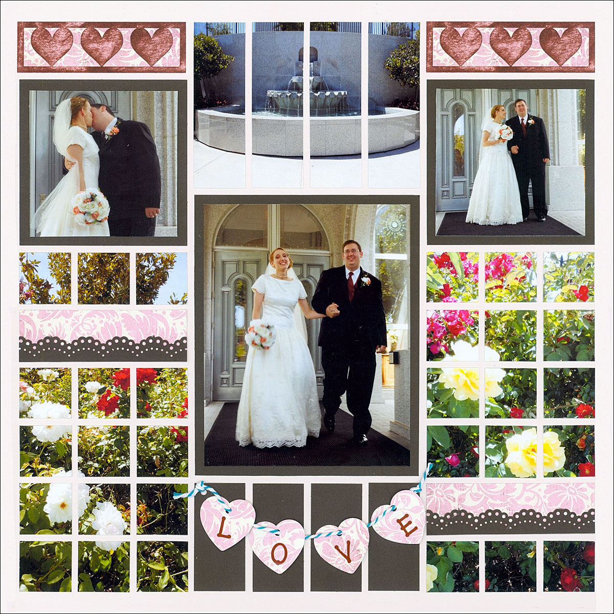 7 Beautiful Wedding Scrapbook Page Ideas You Need To