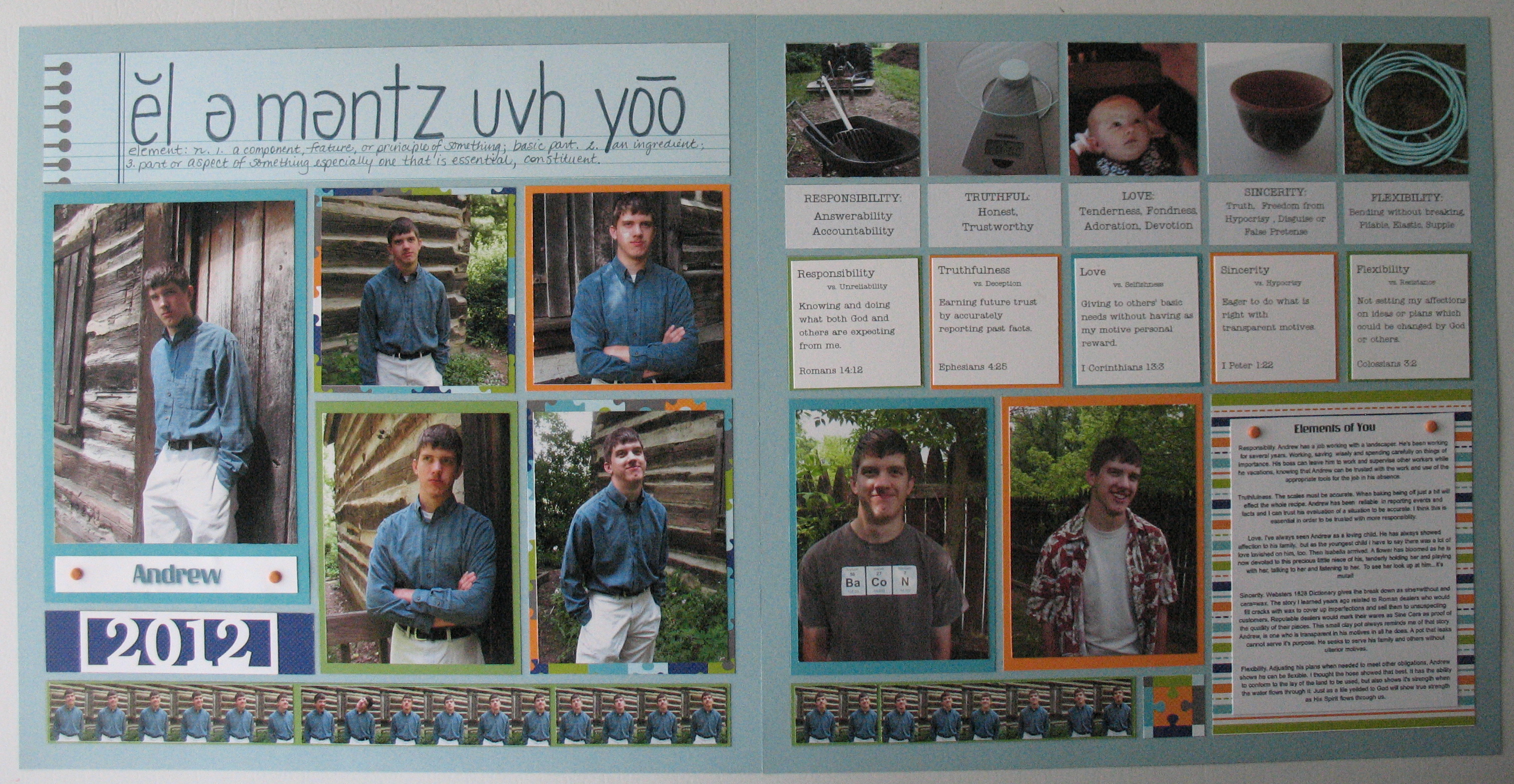 Scrapbook ideas and tips - Scrapbooking Ideas For Back To School Tip Four Age Appropriate A Teen Boy