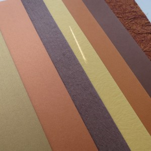 textured and metalic shimmer paper styles add interest