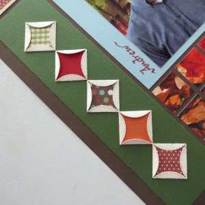 Fall Flourish #2 Quilt Tile Border