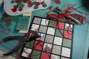 Countdown to Christmas: quilt pattern inspired.