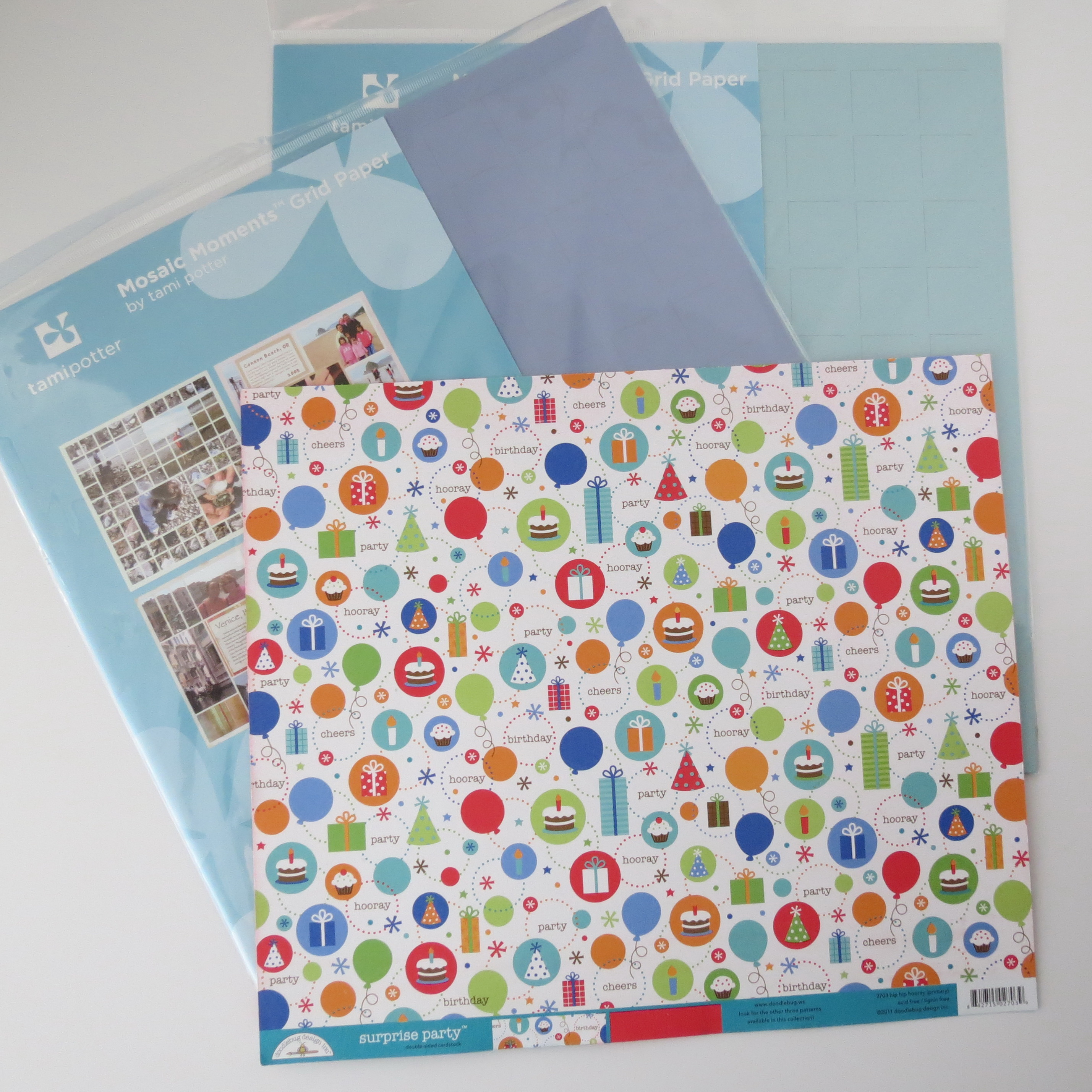 How to make scrapbook for birthday - Birthday Scrapbook Pages Make A Choice And Add A Grid