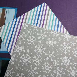 Random Photos double-sided patterned paper