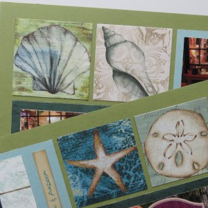 Mosaic Moments Die Sets cut squares on the page