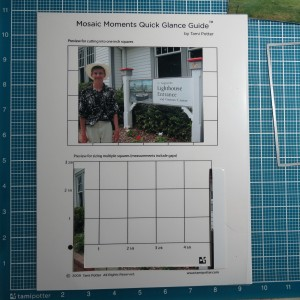 Tips for Fitting photos to the grid The area trimmed from the photo using Dies to sit on top of a 4x6 Paper Tile