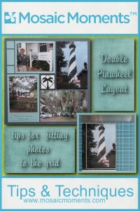Double Pinwheel Layout: Tips for fitting photos to the grid