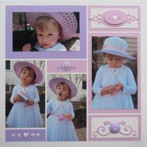 Embellishing Your Scrapbooking Pages: page two