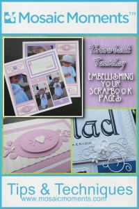 Embellishing Your Scrapbook Pages