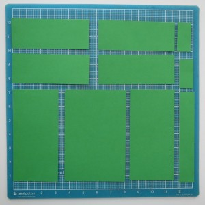Scrapping with Ease: Cutting Mats: Steps 2 and 3