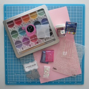 Butterflies & Balance supplies used for embellishments