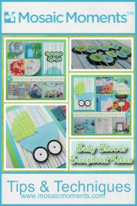 Baby Shower Scrapbook Ideas. Titles, Topics and Textures