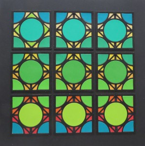 Cornerstone Dies: Encircle Die change the direction of the pattern for a different look.