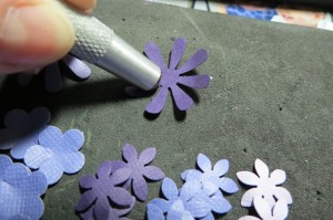 Dressing Up the Grid: preparing the flowers