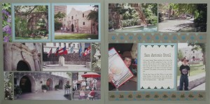 Scrap Your Trip double layout Pattern Style: Rows. Patterns #203 & #150