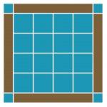 Pattern #110 squares
