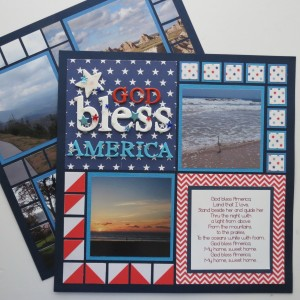 Patriotic Pages page one Pattern #144