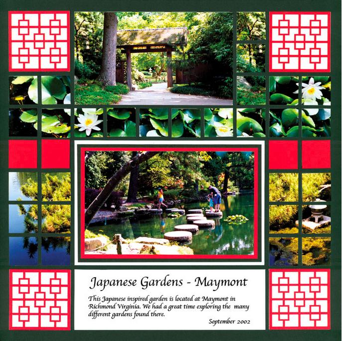 Scrapbooking Patterns - Mosaic