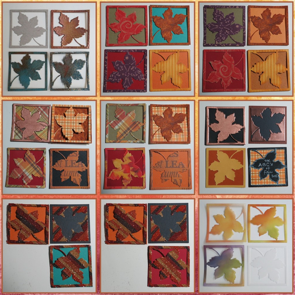 MM Leaf Die Technique Sampler