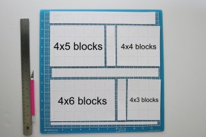 Mini Album Maxi Look These are the cuts you will make and the pages you will get from one 12x12 Grid.
