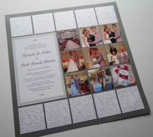 Diamond Ring Die layout before adding embellishments