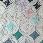 Cathedral Window Quilt sample