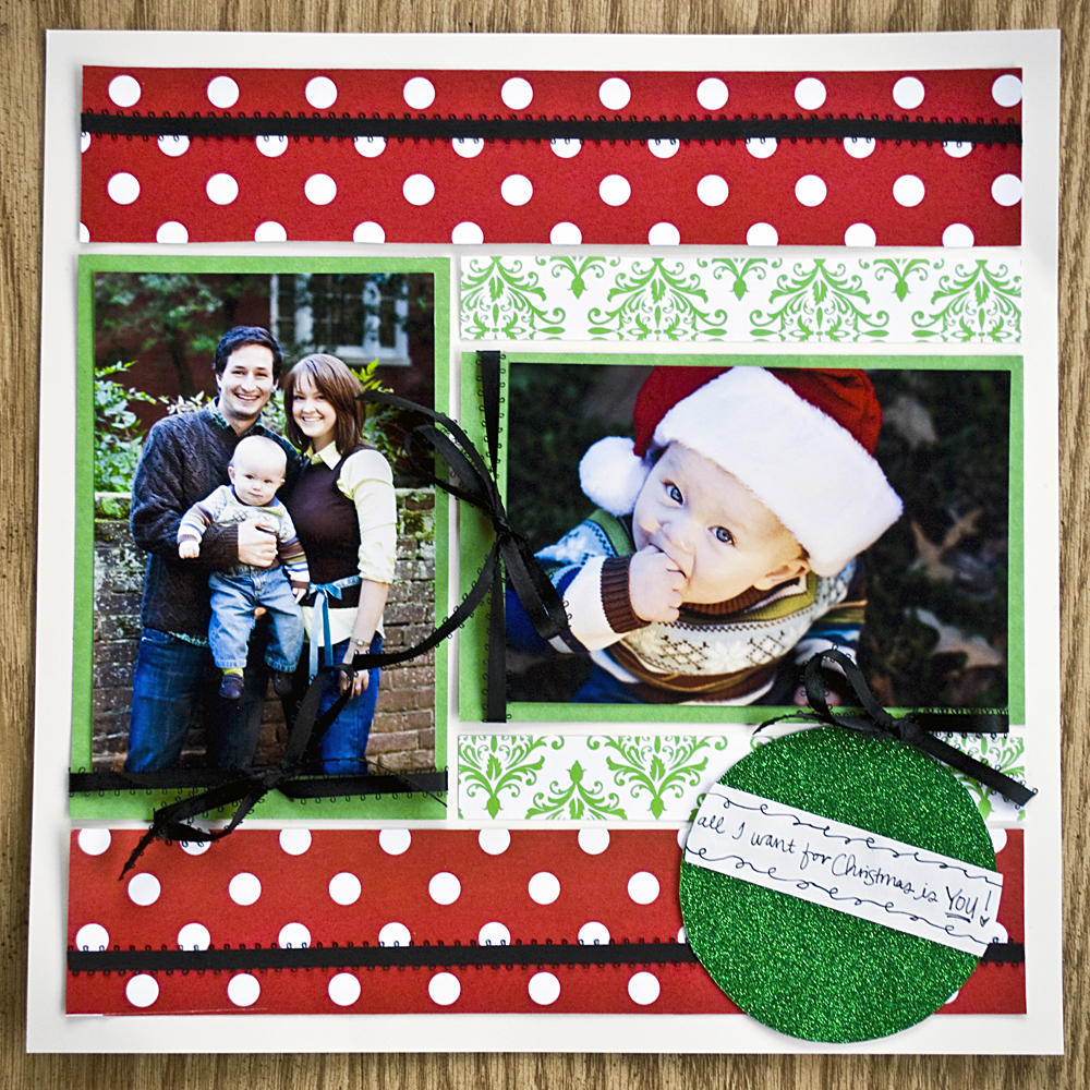 Christmas scrapbook gift ideas