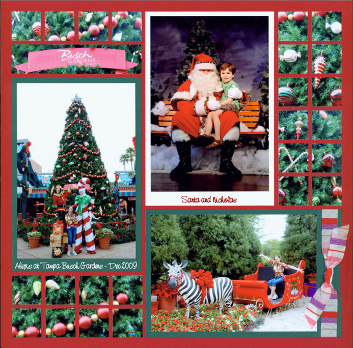 6 Christmas Scrapbook Ideas With Mosaic Moments