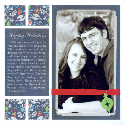 Holiday Card - Formal Style