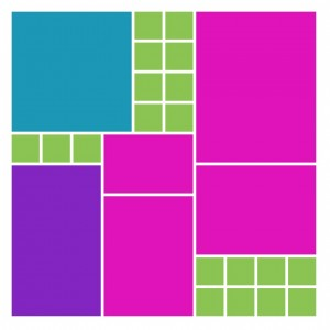 Pattern #263 puzzle style