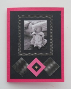 MM Tell Your Story Birthday card to match the layout also hold the same story to share.