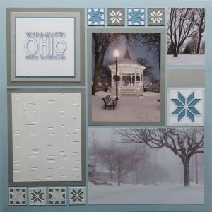 MM Nordic themed design using Carpenters Star Die Sets