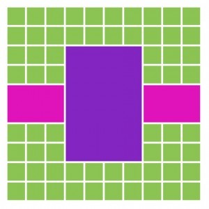 Mosaic Style Pattern # 227