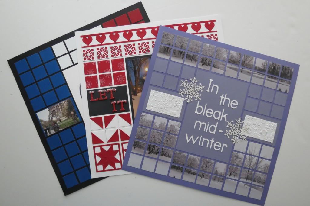 Mosaic Style Pattern 1 Layout 3 Ways