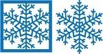 Mosaic Moments Snowflake Die Set 1