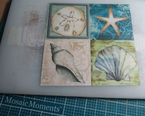 MM Finishing Touches Embellishments patterned paper fussy cut tiles