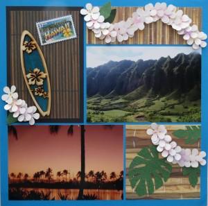 MM Hawaiian Escape page one Pattern #224
