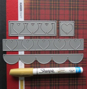 MM Heart Dies supplies used