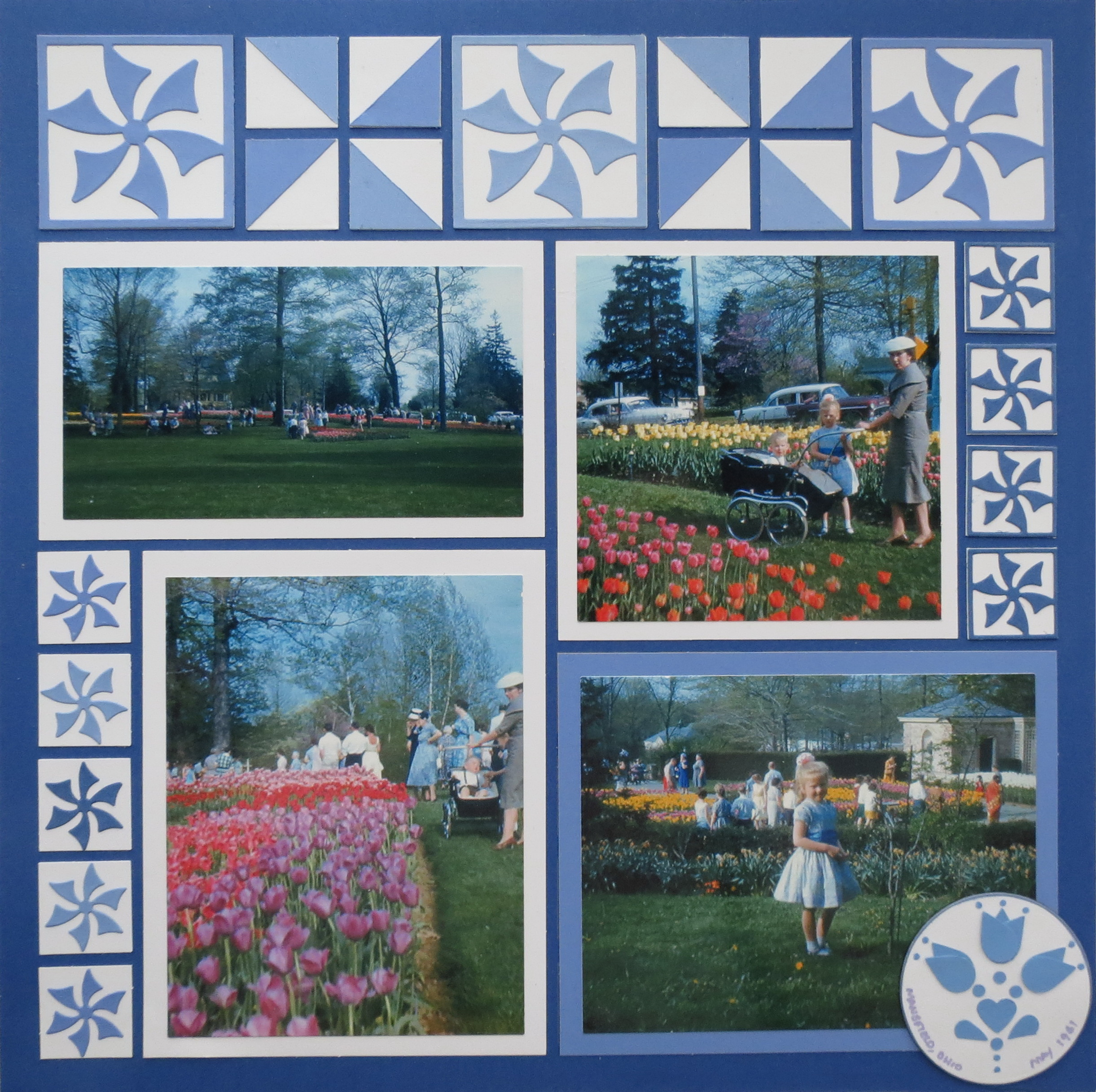 10 ideas for creating with corner tiles - Fall landscaping ideas a mosaic of colors shapes and scents ...