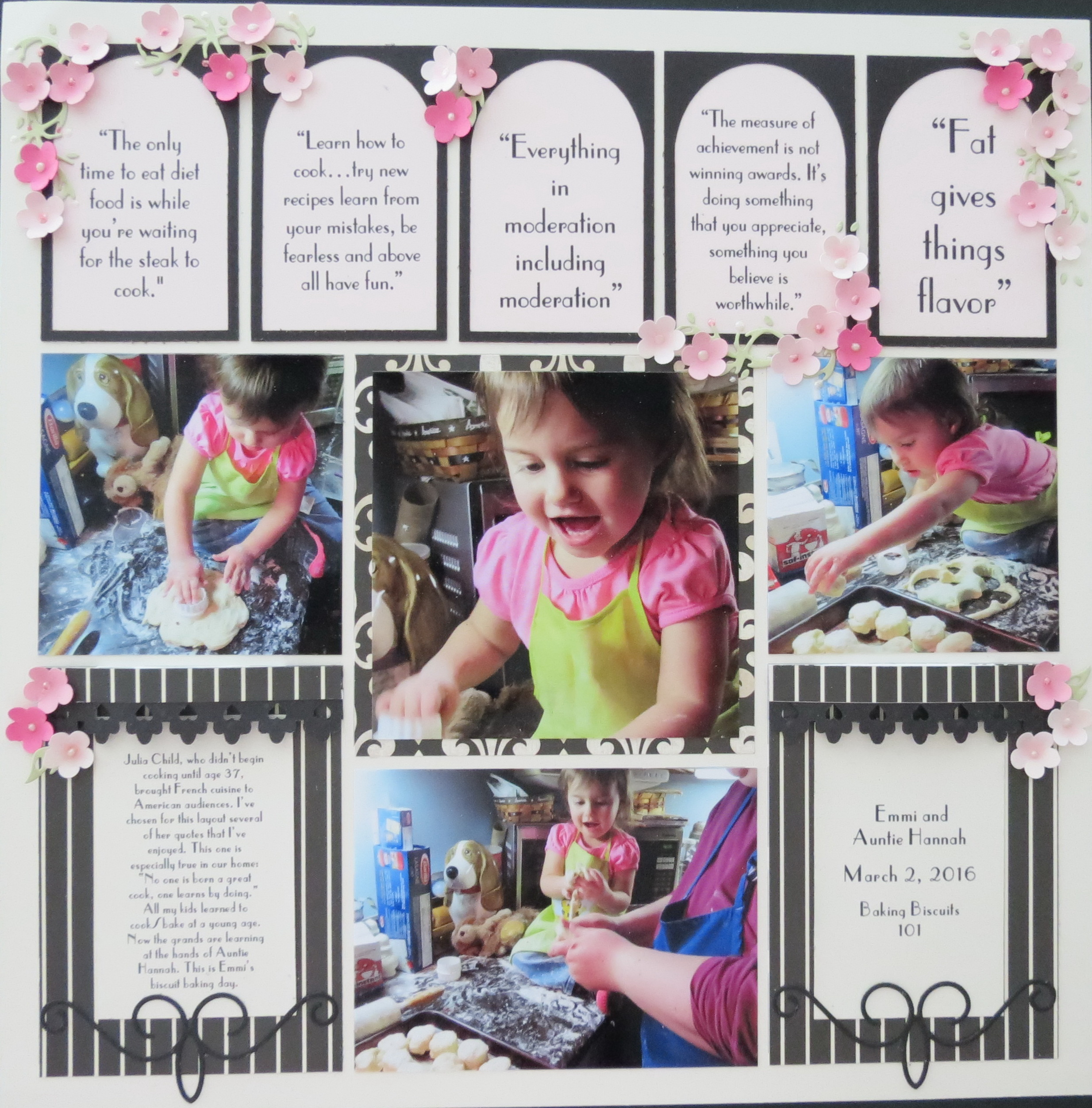Inspired scrapbooking paris in spring mosaic moments - Boutique scrapbooking paris ...