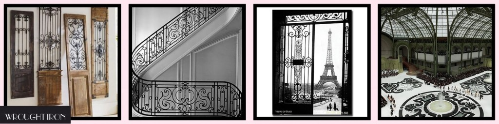 MM Inspiration: Paris in Spring WROUGHT IRON